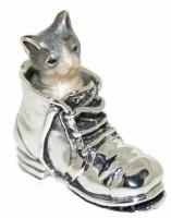 11840 Cat in boot blue