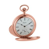 1093 Rose gold Woodford jewel lever hunter pocket watch