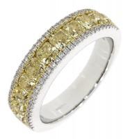 G57.4 Yellow diamond dress ring